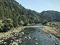 Kusugawa River from train of Kyudai Main Line 2.jpg