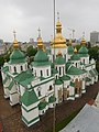 Kyiv - Sofia cathedral from belltower.jpg