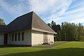 Fil:Kyrkorummets byggnad vid Otterbäckens kyrka.jpg