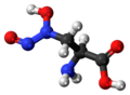 L-Alanosine 3D ball.png