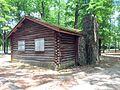 LRWalls-Chambers Park Log Cabin Ext2.jpg