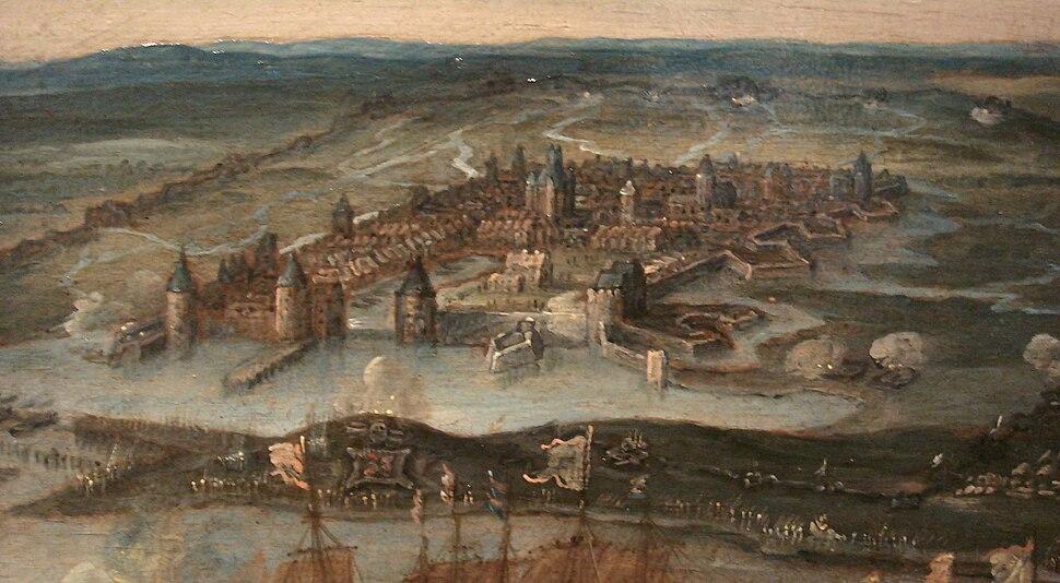 La Rochelle during the 1628 siege