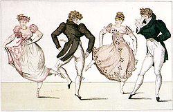 Figure de la trénis, Le Bon Genre (1805).