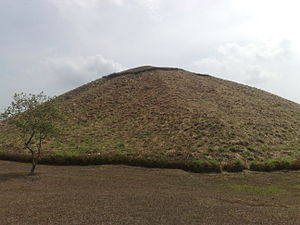 La Venta - Complex C, The Great Pyramid.