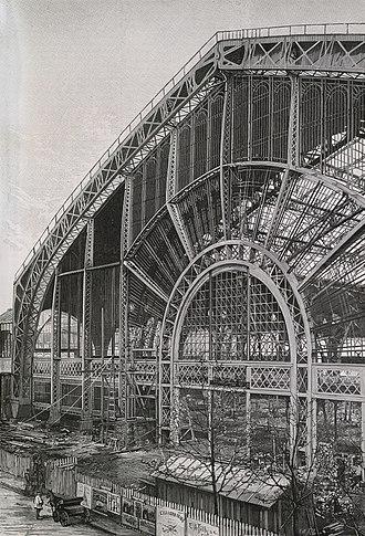 Victor Contamin - Image: La galerie des machines. D'après la photographie de M. H. C. Godefroy