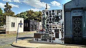 Carlos Gardel - Carlos Gardel's grave at La Chacarita Cemetery