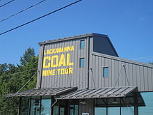 Lackawanna Coal Mine Tour sign IMG 1553.JPG
