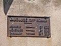 Lacoste - plaque kilometrique.JPG