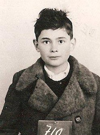 Ladislaus Löb - Age eleven, on his arrival in Switzerland, December 1944