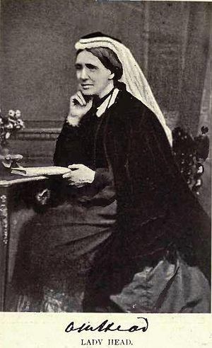 Edmund Walker Head - Lady Anna Maria Head (née Yorke)