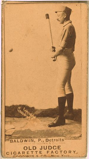 Lady Baldwin - Image: Lady Baldwin baseball card