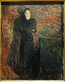 Lady in Black by Edvard Munch - Statens Museum for Kunst - DSC08233.JPG
