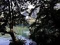 Lago piccolo di Monticchio con Abbazia di San Michele Arcangelo.jpg