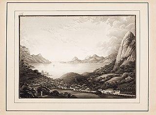Lagoa Rodrigo de Freitas com Morro do Corcovado. (Rio de Janeiro)