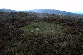 Pond barrow - A possible  Atlantic pond barrow in Galicia (Spain)