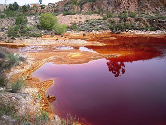 Environmental impact of mining - Acid mine drainage in Portugal