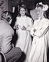 Lana Turner and Donna Reed on set of Green Dolphin Street.jpg