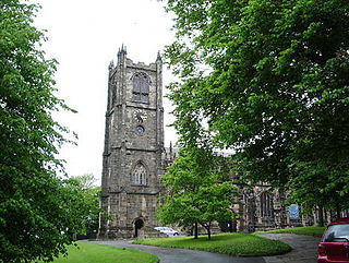 Church in Lancashire, England