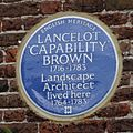 "Lancelot ""Capability"" Brown plaque at Hampton Court 03.jpg"