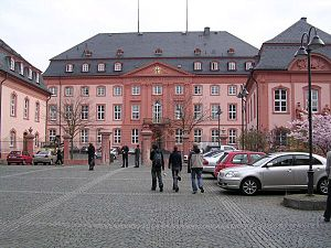 Republic of Mainz - The Deutschhaus in Mainz.