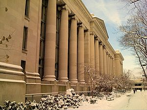 Harvard Law School Langdell Library in Cambrid...