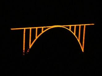 Langwieser Viaduct - Image: Langwieserviadukt 6