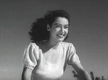 Head-and-shoulders image of the actress Setsuko Hara as Noriko in the film