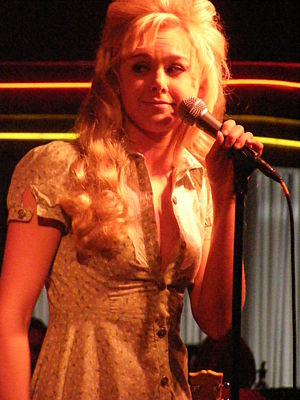 Laura Bell Bundy - Bell Bundy at Birdland in July 2007