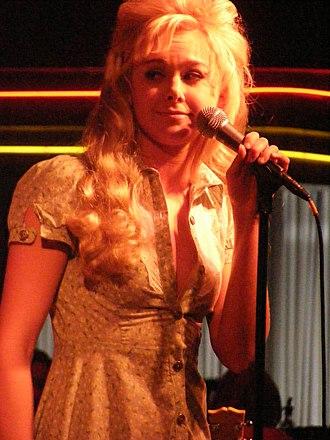 Laura Bell Bundy - Bell Bundy at Birdland in July 2007