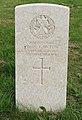Lawton (William Alan) CWGC gravestone, Flaybrick Memorial Gardens.jpg