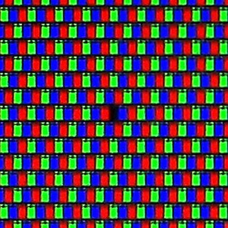 Image resolution - Image: Lcd display dead pixel