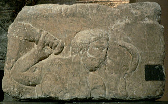 Smertrios - Relief of Smertrius from the Pillar of the Boatmen, Paris.