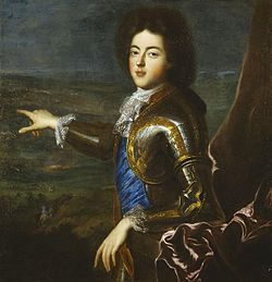 Le duc du Maine (par J.F. de Troy)