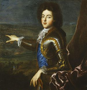 Louis Auguste, Duke of Maine - Portrait by François de Troy
