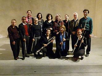 Kevin Volans - Image: Leach Volans Hoitenga Flute Projekt 2015 (Annamarie Ursula) P1200494
