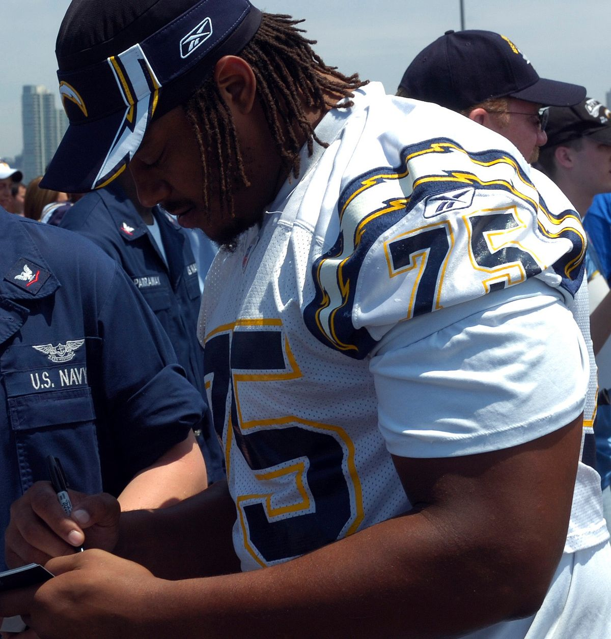 San Diego Chargers Former Playerssan Diego Chargers Forum: Leander Jordan