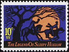 Legend of Sleepy Hollow U.S. Stamp