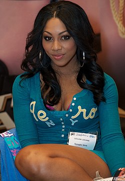 Leilani Leeane at AVN Adult Entertainment Expo 2012 2.jpg