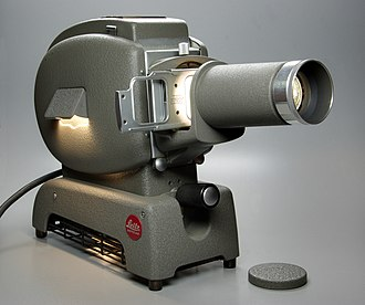 Reversal film - Slide projector Leitz Prado
