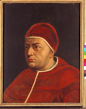 Papal conclave, 1513 - Image: Leo X Rubens