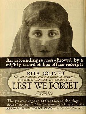 Rita Jolivet - Lest We Forget (1918)