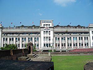 Colegio de San Juan de Letran - The historical facade of Letran