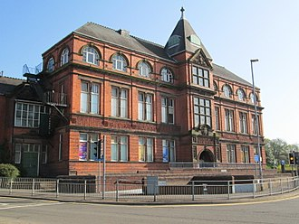 Tunstall, Staffordshire - Tunstall library and public baths
