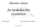 Libreto Siriono - Mamíferos.pdf