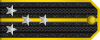 Lieutenant Commander rank insignia (North Korea).svg