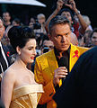 Life Ball 2010, red carpet, Dita von Teese, Alfons Haider.jpg