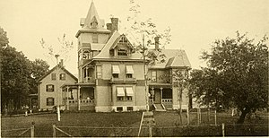 Hopkinton, New Hampshire - W. S. Davis Building 1889