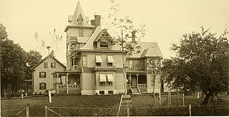 Hopkinton, New Hampshire - W. S. Davis Building 1889
