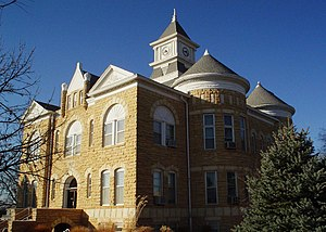 Lincoln County Courthouse in Lincoln