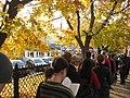 Line around the block to vote in Somerville. (3002271135).jpg